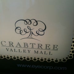 Photo taken at Crabtree Valley Mall by LeeAnn K. on 8/10/2011