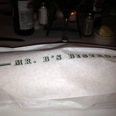 Photo taken at Mr. B's Bistro by roseanne on 3/15/2012