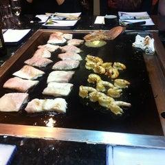 Photo taken at Shinju Teppan Japanese Restaurant by Daniel M. on 8/18/2011
