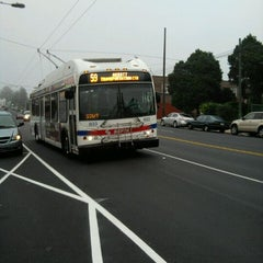 Photo taken at SEPTA: Trolleybus Route 59 by Sandy S. on 9/27/2011