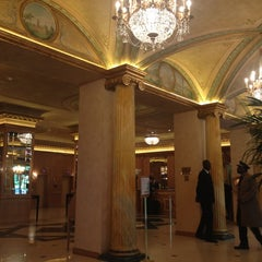 Photo taken at The Westin Palace Milan by tsubotax on 5/2/2012