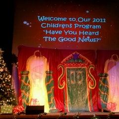 Photo taken at Edgewater Church by Jeff B. on 12/14/2011