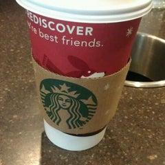 Photo taken at Starbucks by victoria on 12/11/2011
