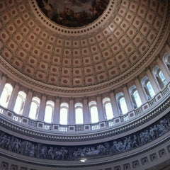 Photo taken at United States Capitol Visitors Center by Claudette C. on 3/3/2012