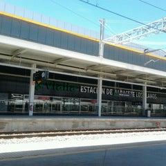 Photo taken at Estación de Albacete-Los Llanos by Pedro S. on 6/21/2012