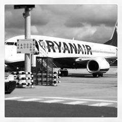 Photo taken at Brussels South Charleroi Airport (CRL) by Nicolas S. on 7/17/2012