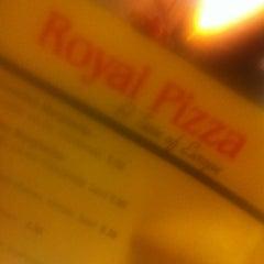 Photo taken at Royal Pizza by Megan A. on 5/10/2011