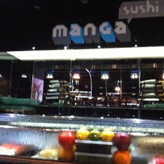 Photo taken at Manga Sushi مانجا سوشي by Clint W. on 7/24/2011