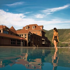 Photo taken at Glenwood Hot Springs by Colleen H. on 5/8/2012