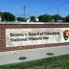 Photo taken at Brown vs. Board of Education National Historic Site by Peter G. on 6/14/2012