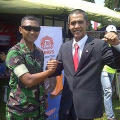 Photo taken at Lap. Brigif Linud 17 Cijantung by Tegar I. on 5/19/2012
