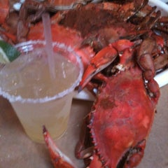 Photo taken at Mike's Crabhouse by Mike H. on 7/24/2011