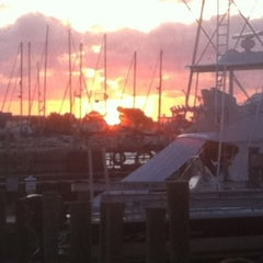 Photo taken at Virginia's on the Bay by Andrew S. on 8/8/2011