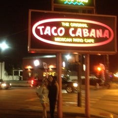 Photo taken at Taco Cabana by Sarah F. on 12/23/2011