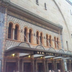 Photo taken at New York City Center by Kim B. on 7/28/2012