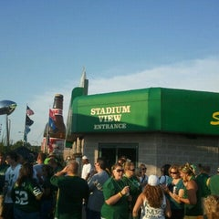 Photo taken at Stadium View Bar and Grill by Ryan M. on 8/19/2011
