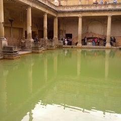 Photo taken at The Roman Baths by Martin K. on 8/8/2012