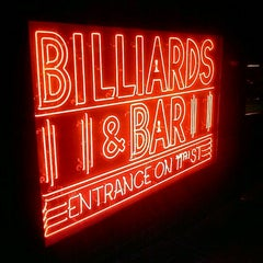 Photo taken at Amsterdam Billiards & Bar by Omar C. on 10/17/2011