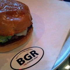 Photo taken at BGR - The Burger Joint by Todd H. on 1/28/2012