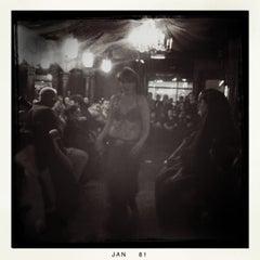 Photo taken at Asylum Bar & Lounge by Laura F. on 1/31/2011