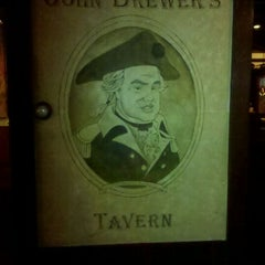 Photo taken at John Brewer's Tavern by Jonathan Harris S. on 9/29/2011