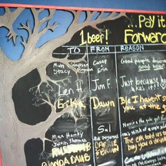 Photo taken at Burley Oak Brewing Company by Tony R. on 8/7/2012