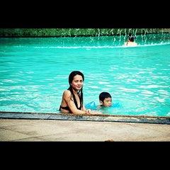 Photo taken at Bluewater Maribago Beach Resort by Stenelie N. on 6/23/2012