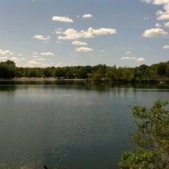 Photo taken at Menomonee Park by Cassandra P. on 8/21/2012