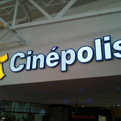 Photo taken at Cinépolis Portales by Juan Diego C. on 11/24/2011