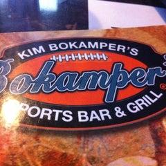 Photo taken at Bokamper's Sports Bar & Grill by Jane R. on 4/27/2012