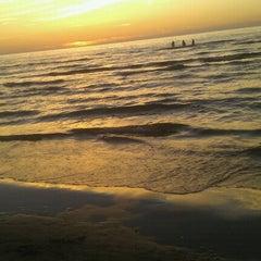 Photo taken at Majoru pludmale | Majori beach by Karīna P. on 7/24/2012