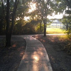 Photo taken at McClendon Park by Enrique G. on 8/8/2012