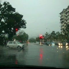 Photo taken at Bayan Lepas Intersection by Eddy J. on 2/2/2012