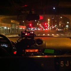 Photo taken at NYC Taxi Cab by Irene G. on 3/2/2012