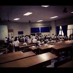 Photo taken at ศูนย์เรียนรวม 3 (Lecture Hall 3) by Karn' P. on 4/26/2012