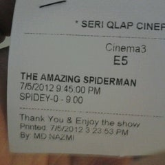 Photo taken at Seri Qlap. Cinema by Taufiq J. on 7/5/2012