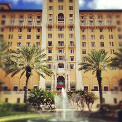 Photo taken at The Biltmore Hotel by Mario T. on 8/9/2012