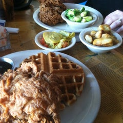 Photo taken at Three Angels Diner by Will H. on 3/17/2012