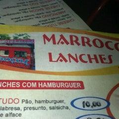 Photo taken at Marrocos Lanches by Luiz Fernando A. on 2/26/2012