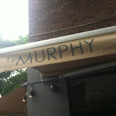 Photo taken at Le Murphy Boire & Manger by Marie C. on 7/3/2012