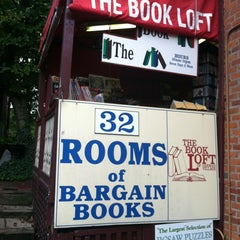 Photo taken at The Book Loft of German Village by Kelsey S. on 9/4/2012