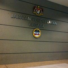 Photo taken at Jabatan Pendaftaran Negara (JPN) by Yatie Y. on 8/28/2012