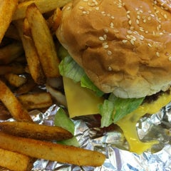 Photo taken at Five Guys by Anthony S. on 8/30/2012
