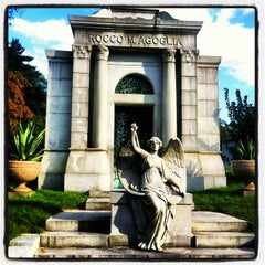 Photo taken at The Green-Wood Cemetery by Richard C. on 8/29/2012