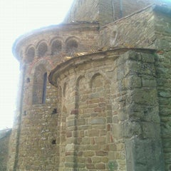 Photo taken at Pieve di Santa Maria e di San Leonardo by Lorenzo I. on 6/2/2012