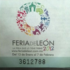 Photo taken at Feria de Leon by George on 2/6/2012