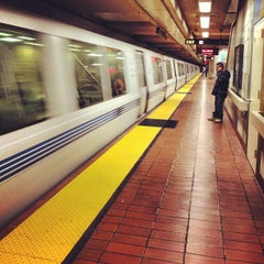 Photo taken at 16th St. Mission BART Station by Kayvon T. on 5/18/2012