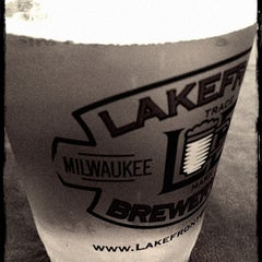 Photo taken at Lakefront Brewery by Kayla W. on 5/11/2012