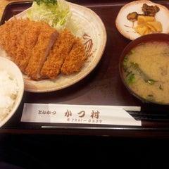 Photo taken at かつむら by Yas S. on 7/25/2012