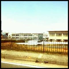 Photo taken at 建設技術50周年記念碑 by GATTACA on 3/29/2012